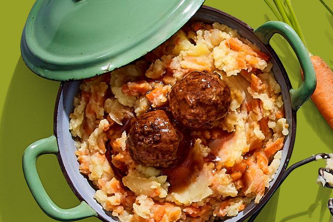 Heerlijke hutspot-met gehaktballen recept